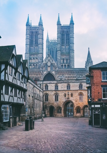 For 300 years Lincoln Cathedral was the tallest in the world.
