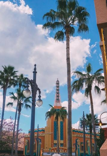 Entrance to Sunset Boulevard, Hollywood Studios