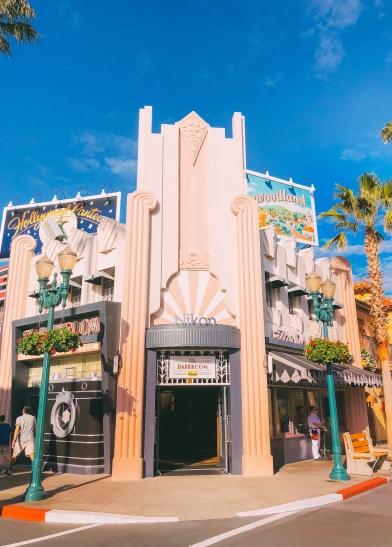 Hollywood Boulevard's Nikon camera shop
