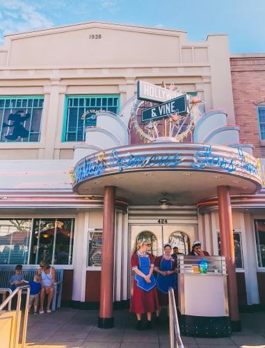 Hollywood Vine 1950's Diner