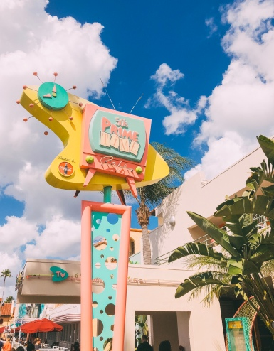 Head back into the 50's at Hollywood Studios