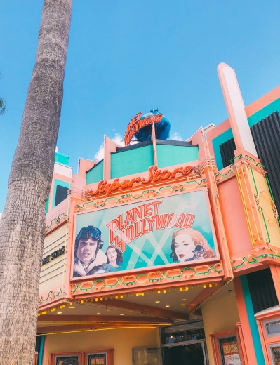 A tribute to Planet Hollywood